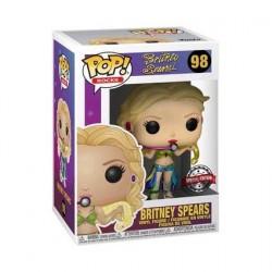 Figurine Pop! Métallque Britney Spears Slave 4U Edition Limitée Funko Boutique en Ligne Suisse