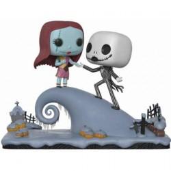 Figurine Pop! Disney L'Étrange Noël de Mr Jack Jack et Sally on the Hill Movie Moment Funko Boutique en Ligne Suisse