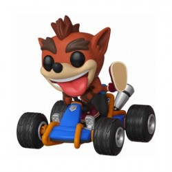 Figurine Pop! Ride Crash Team Racing Crash Bandicoot Funko Boutique en Ligne Suisse