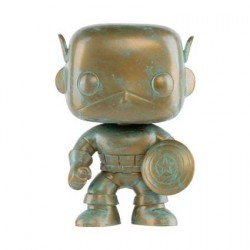 Figur Pop! Marvel 80th Anniversary Captain America Patina Limited Edition Funko Online Shop Switzerland