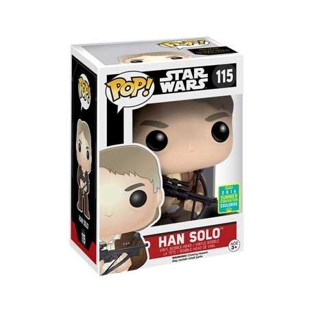 Figur Pop! SDCC 2016 Star Wars Han Solo Bowcaster Limited Edition Funko Online Shop Switzerland