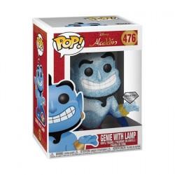 Figurine Pop! Diamond Disney Aladdin Genie avec Lampe Glitter Edition Limitée Funko Boutique en Ligne Suisse