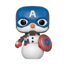 Figurine Pop! Marvel Holiday Captain America Funko Boutique en Ligne Suisse