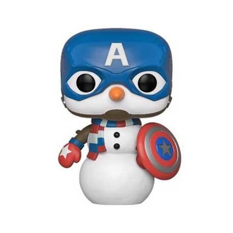 Figur Pop! Marvel Holiday Captain America Funko Online Shop Switzerland