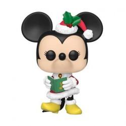 Figurine Pop! Disney Holiday Minnie Funko Boutique en Ligne Suisse