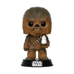 Figur Pop! Star Wars The Last Jedi Chewbacca with Porg (Vaulted) Funko Online Shop Switzerland