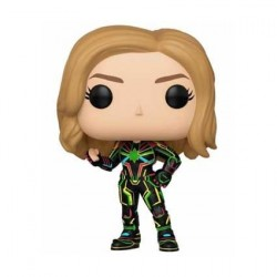Pop! Captain Marvel with Neon Suit