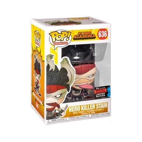 Figur Pop! NYCC 2019 My Hero Academia Hero Killer Stain Limited Edition Funko Online Shop Switzerland
