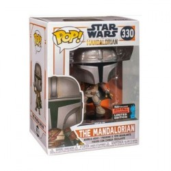 Figurine Pop! NYCC 2019 Star Wars The Mandalorian Limited Edition Funko Boutique en Ligne Suisse