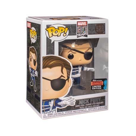 Figur Pop! NYCC 2019 Marvel Nick Fury First Appearance Limited Edition Funko Online Shop Switzerland