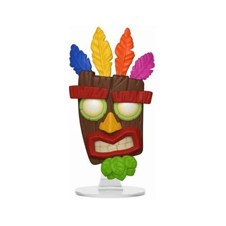 Figurine Pop! Games Crash Bandicoot Aku Aku Funko Boutique en Ligne Suisse