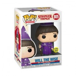 Figurine Pop! Glow in the Dark Stranger Things Will the Wise Limited Edition Funko Boutique en Ligne Suisse