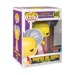 Figurine Pop! NYCC 2019 Les Simpsons Mr Burns en Dracula Edition Limitée Funko Boutique en Ligne Suisse