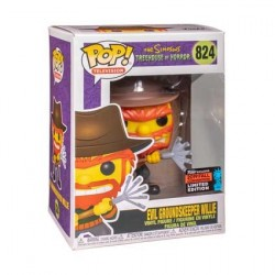 Figur Pop! NYCC 2019 The Simpsons Evil Groundskeeper Willie Limited Edition Funko Online Shop Switzerland