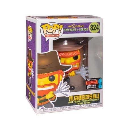 Figur Pop! NYCC 2019 Simpsons Evil Groundskeeper Willie Limited Edition Funko Online Shop Switzerland
