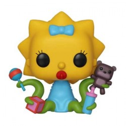 Figurine Pop! Les Simpsons Alien Maggie Funko Boutique en Ligne Suisse