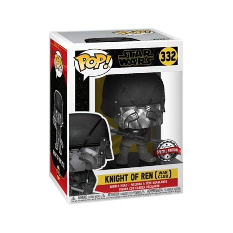 Figur Pop! Star Wars Knight of Ren War Club Episode IX Rise of Skywalker Limited Edition Funko Online Shop Switzerland