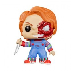 Figur Pop! Child's Play Chucky Half Battle Damaged Limited Edition Funko Online Shop Switzerland