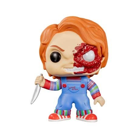 Figur Pop! Child's Play Chucky Half Battle Damaged Limited Edition Funko Online Shop Switzerland