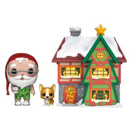 Figur Pop! Town Holiday Santa's House with Santa and Nutmeg Funko Online Shop Switzerland
