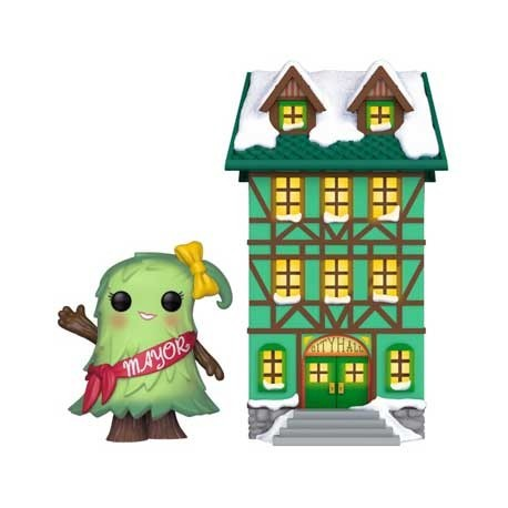 Figur Pop! Town Holiday Town Hall with Mayor Patty Noble Funko Online Shop Switzerland
