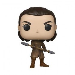 Figurine Pop! Game of Thrones Arya with Two Headed Spear Funko Boutique en Ligne Suisse