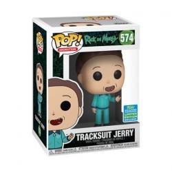 Pop! SDCC 2019 Rick et Morty Jerry en Tracksuit Edition Limitée