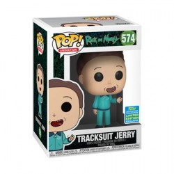 Figur Pop! SDCC 2019 Rick & Morty Jerry in Tracksuit Limited Edition Funko Online Shop Switzerland