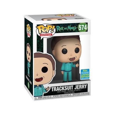 Figurine Pop! SDCC 2019 Rick et Morty Jerry en Tracksuit Edition Limitée Funko Boutique en Ligne Suisse