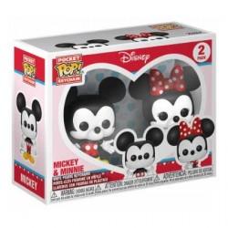 Figurine Pop! Pocket Keychains Mickey & Minnie Funko Boutique en Ligne Suisse
