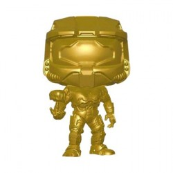 Pop! Halo Master Chief with Cortana Metallic Gold Limited Edition