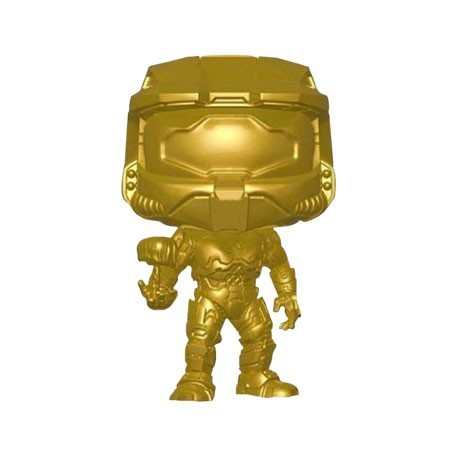 Figur Pop! Halo Master Chief with Cortana Metallic Gold Limited Edition Funko Online Shop Switzerland