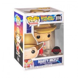 Pop! Back to the Future Marty McFly Cowboy Limited Edition