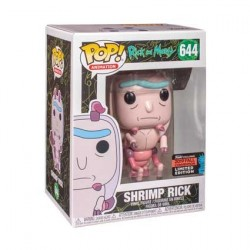Figur Pop! NYCC 2019 Rick and Morty Shrimp Rick Limited Edition Funko Online Shop Switzerland