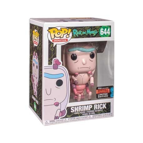 Figur Pop! NYCC 2019 Rick & Morty Shrimp Rick Limited Edition Funko Online Shop Switzerland