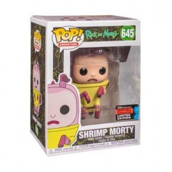 Figur Pop! NYCC 2019 Rick & Morty Shrimp Morty Limited Edition Funko Online Shop Switzerland