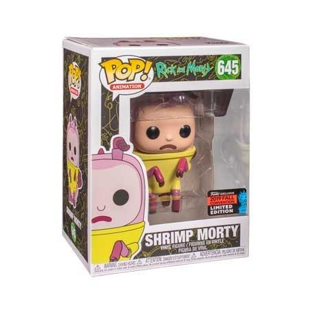 Figur Pop! NYCC 2019 Rick & Morty Shrimp Morty Limited Edition Funko Online Shop Switzerland