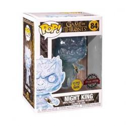 Figurine Pop! Game of Thrones Phosphorescent Crystal Night King with Dagger Edition Limitée Funko Boutique en Ligne Suisse