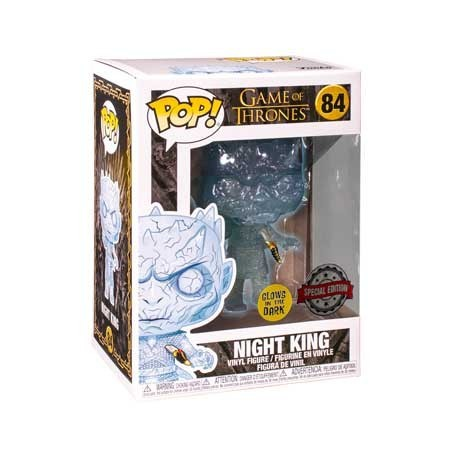 Figur Pop! Game of Thrones Glow in the Dark Crystal Night King with Dagger Limited Edition Funko Online Shop Switzerland