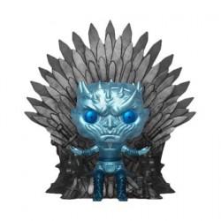 Figurine Pop! 15 cm Game of Thrones Night King on Throne Metallic Deluxe Edition Limitée Funko Boutique en Ligne Suisse