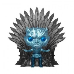 Pop! 15 cm Game of Thrones Night King on Throne Metallic Deluxe Limited Edition