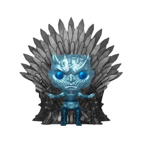 Figur Pop! 15 cm Game of Thrones Night King on Throne Metallic Deluxe Limited Edition Funko Online Shop Switzerland