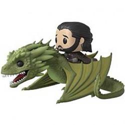 Figurine Pop! Rides Game of Thrones Jon Snow avec Rhaegal Funko Boutique en Ligne Suisse