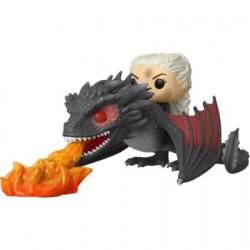 Figurine Pop! Game of Thrones Daenerys sur Fiery Drogon Funko Boutique en Ligne Suisse