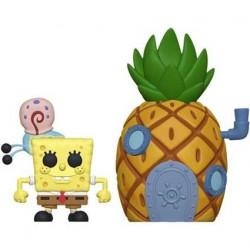 Figurine Pop! 15 cm Town Spongebob with Pineapple Funko Boutique en Ligne Suisse