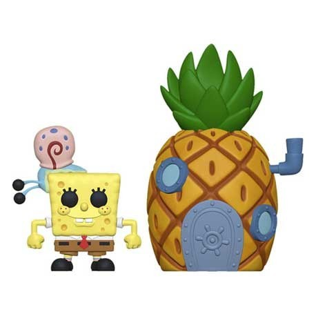 Figur Pop! Town Spongebob with Pineapple Funko Online Shop Switzerland