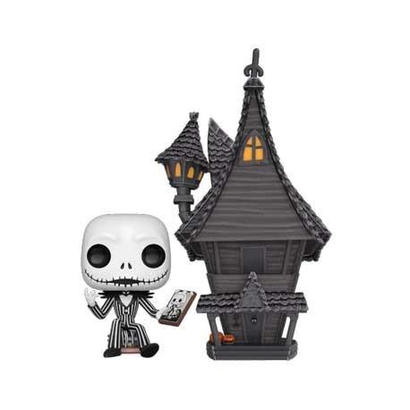 Figur Pop! 15 cm Town Nightmare Before Christmas Jack with Jack's House Funko Online Shop Switzerland