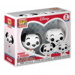 Figur Pop! Pocket Keychains Disney 101 Dalmatians Pongo & Perdita Funko Online Shop Switzerland