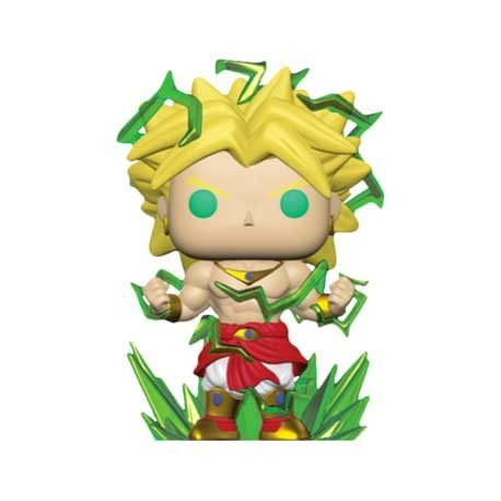 Figur Pop! 15 cm Dragon Ball Z Super Saiyan 2 Broly Limited Edition Funko Online Shop Switzerland