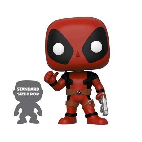 Figuren Pop! 25 cm Marvel Deadpool Thumbs Up Red Limited Edition Funko Online Shop Schweiz